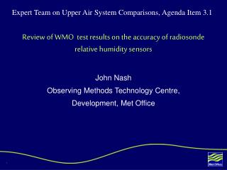 Review of WMO  test results on the accuracy of radiosonde relative humidity sensors