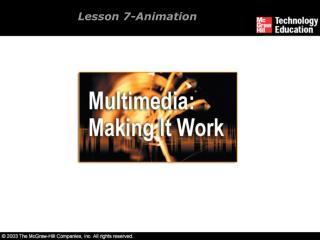 Lesson 7-Animation