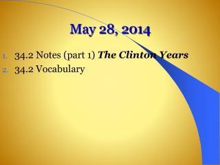 May 28, 2014