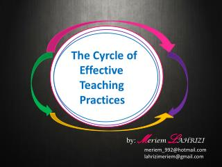 The  Cyrcle  of    Effective    Teaching    Practices