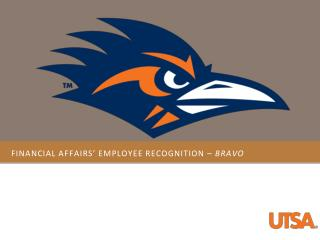 Financial affairs' Employee recognition –  BRAVO