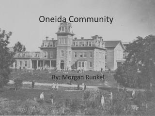Oneida Community