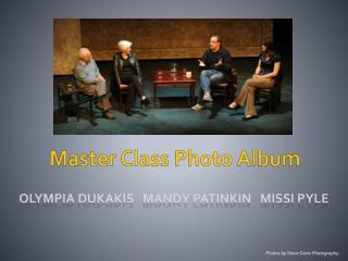 Master Class Photo Album