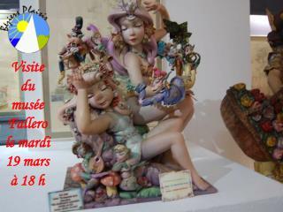 Visite du musée Fallero le mardi 19 mars à 18 h