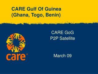 CARE Gulf Of Guinea (Ghana, Togo, Benin)