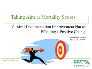 Taking Aim at Mortality Scores