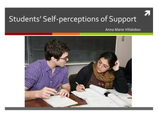 Students� Self-perceptions of Support