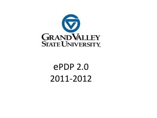 e PDP 2.0 2011-2012