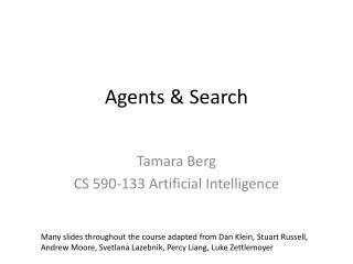 Agents & Search