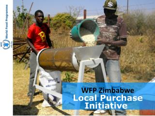 WFP Zimbabwe Local Purchase Initiative