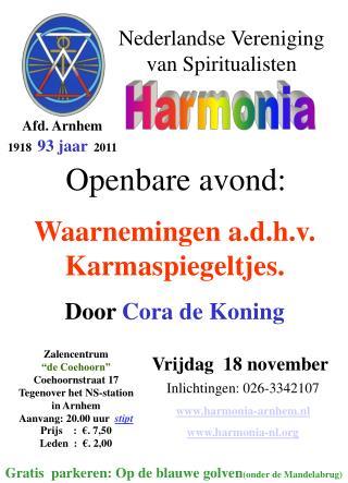 Nederlandse Vereniging                  van Spiritualisten