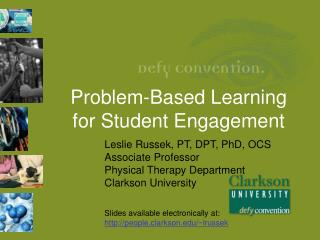 Problem-Based  Learning for Student Engagement