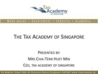 The Tax Academy of Singapore