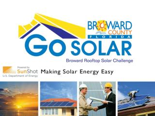 What is Go SOLAR   Broward Rooftop Solar Challenge?