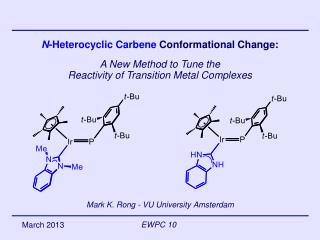 N -Heterocyclic Carbene  Conformational Change: A New Method to Tune the