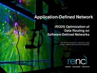 Application-Defined Network