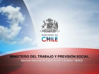 MINISTERIO DEL TRABAJO Y PREVISIÓN SOCIAL
