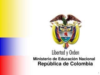 Ministerio de Educaci�n Nacional