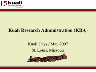 Kuali Research Administration (KRA)