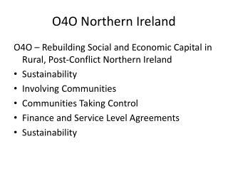 O4O Northern Ireland