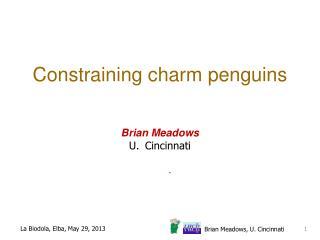 Constraining c harm penguins