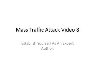 Mass Traffic Attack Video 8