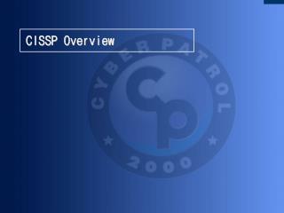 CISSP Overview