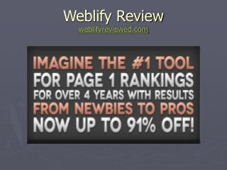 Review of Weblify | Weblify by Ricky Mataka
