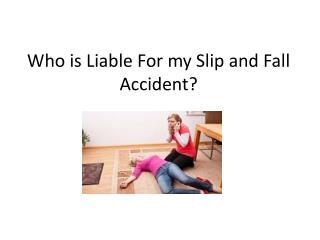 Slip and Fall attorney in New Jersey