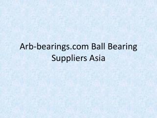 Arb-bearings.com-Ball-Bearing-Suppliers-Asia