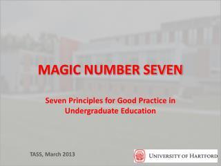 MAGIC NUMBER SEVEN