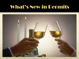 What's New in Permits