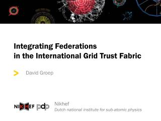 Integrating Federations  in the International Grid Trust Fabric