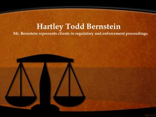 Hartley Bernstein and Corporate law