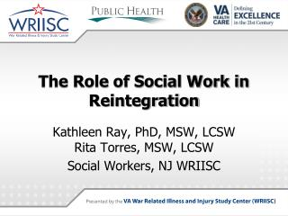The Role of Social Work in Reintegration
