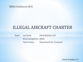 BBGA Conference 2012