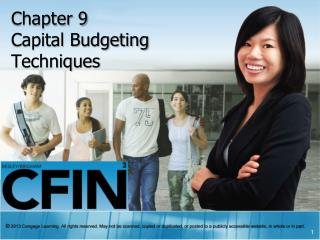 Chapter 9 Capital Budgeting  Techniques