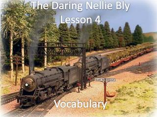 The Daring Nellie Bly Lesson 4 Vocabulary