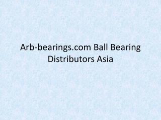 Arb-bearings.com-Ball-Bearing-Distributors-Asia