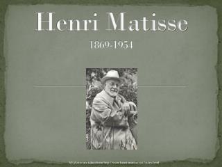 Henri Matisse 1869-1954