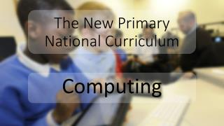 The New Primary  National Curriculum
