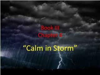 Book III Chapter 4