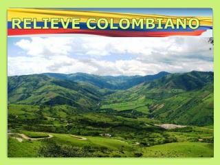 RELIEVE COLOMBIANO