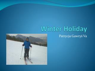 Winter Holiday