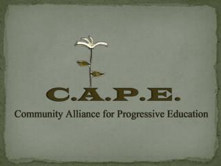 Who are we? Why a charter school? And what is a charter school? What is progressive education?