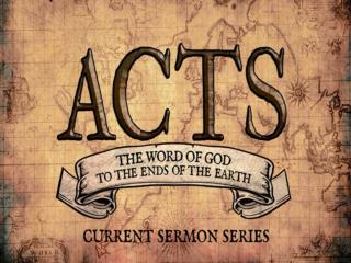 Acts 6: 8-15  Stephen performs miracles & preaches  He defends the faith against opponents