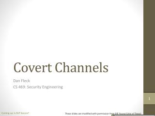 Covert Channels