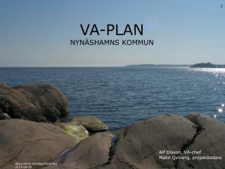 VA-PLAN  Nynäshamns kommun