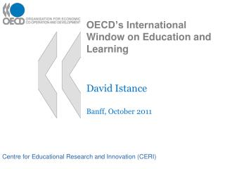 OECD�s International Window on Education and Learning