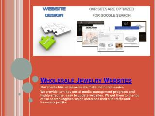 Jewelry Store Websites